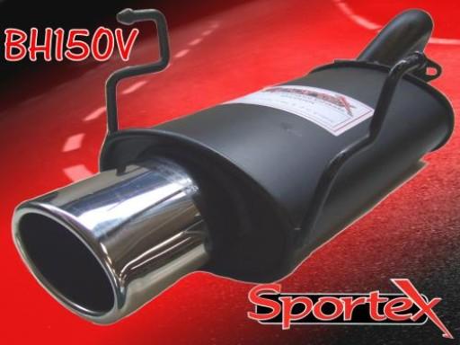 Sportex Honda Civic Type R exhaust back box EP3 2001-2006 OV