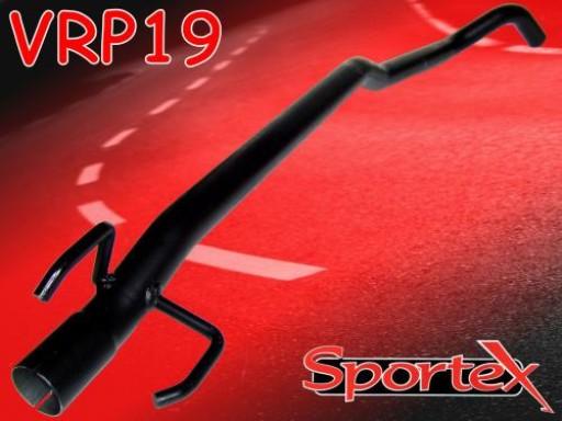 Sportex Vauxhall Tigra exhaust race tube 1.2i 1.4i 1.6i 1993-2000