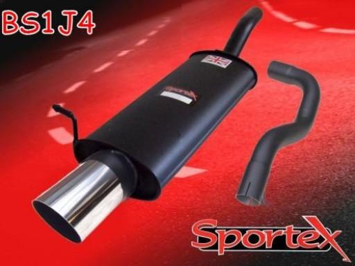 Sportex Seat Leon 1.8T exhaust back box 2000-2005 J4