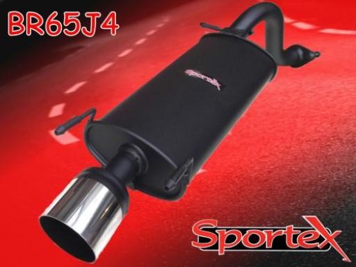 Sportex MG ZR exhaust back box 2001-2005 J4