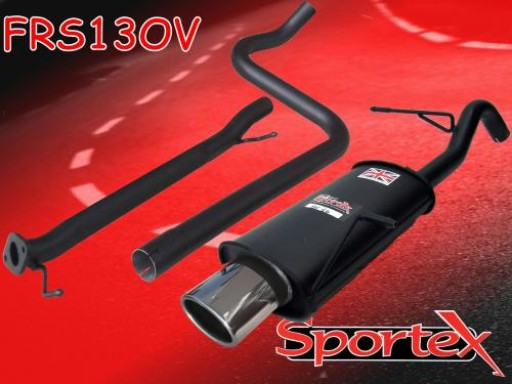 Sportex Ford Fiesta mk7 race tube exhaust system 1.6i 2009-2012 OV