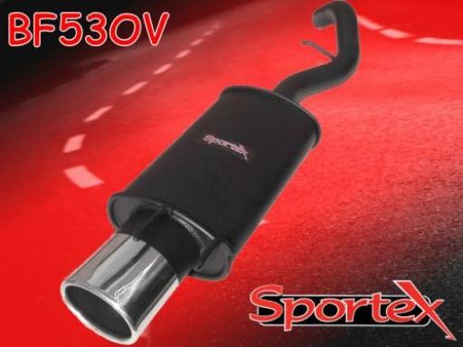 Sportex Ford Escort exhaust back box 1.8 Si GTi 1997-1999 OV