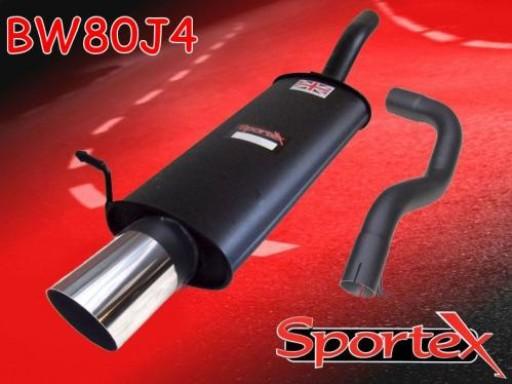 Sportex VW Golf mk4 2.0i GTi exhaust back box 2001-2004 J4