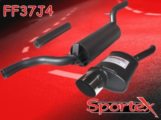 Sportex Ford Focus performance exhaust system 1.6i 1998-2004 J4