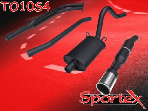 Sportex Opel Manta exhaust system 2.0i GTE hatch S4