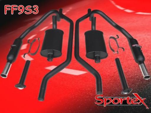 Sportex Ford Capri 3.0 performance exhaust system 1974-1981