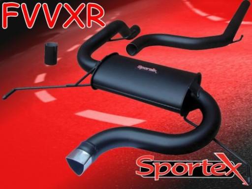 Sportex Vauxhall Corsa VXR 1.6T performance exhaust system 2007-2010