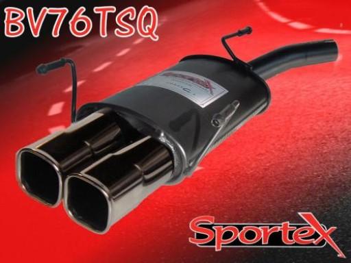 Sportex Vauxhall Corsa C exhaust back box 2000-2006 TSQ