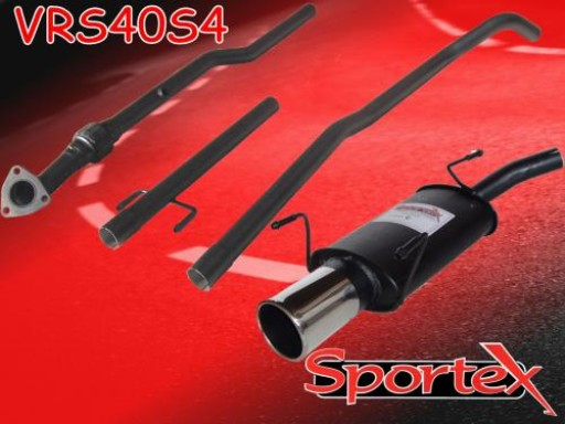 Sportex Vauxhall Corsa C performance exhaust system 2000-2003 S4