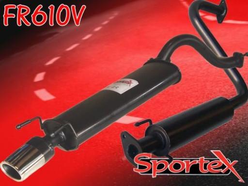 Sportex MG ZR exhaust system 2001-2005 OV