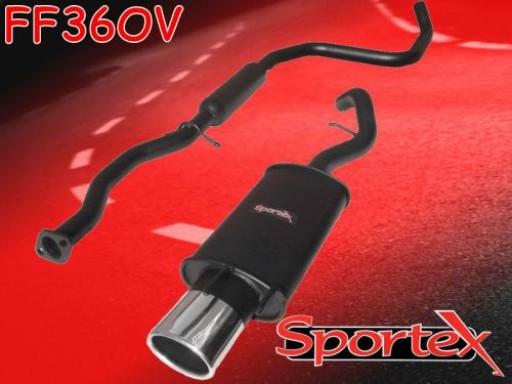 Sportex Ford Escort performance exhaust system 1.8i Si GTi 97-99 OV