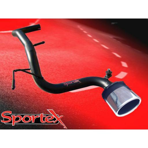 Sportex VW Lupo 1.0i 1.4i CENTRE exit tailpipe 1998-2004 OV