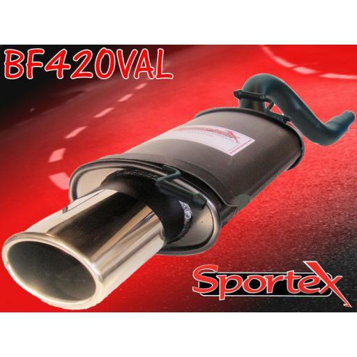 Sportex Ford KA exhaust back box 1.3i 1996-2008 OV