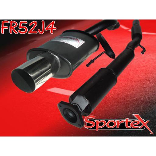 Sportex Renault Clio exhaust system 2.0i 172 Sport J4