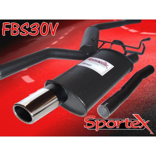 Sportex Fiat Bravo performance exhaust system 1.2i 1998-2002 OV