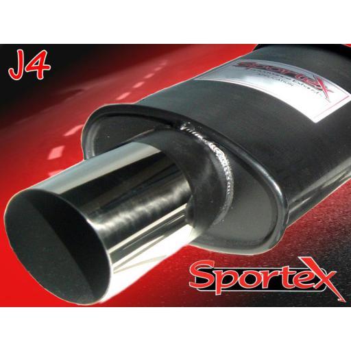 Sportex BMW 3 series Compact performance exhaust system 94-00 J4