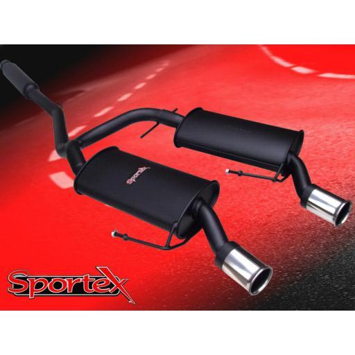 Sportex Renault Clio 182 Sport performance exhaust system 2004-