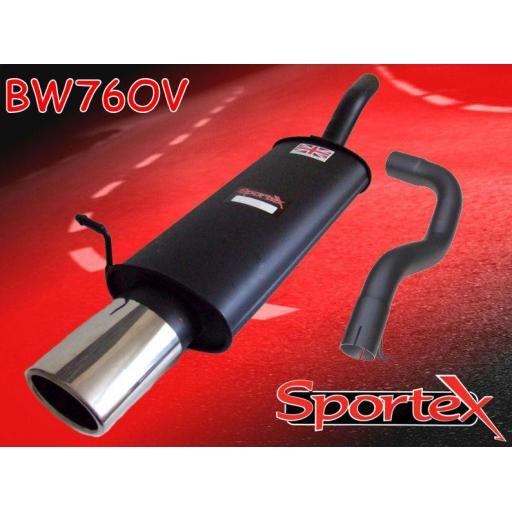 Sportex VW Golf exhaust back box 1997-2004 OV