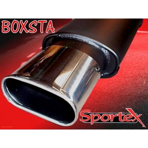 Sportex Peugeot 307 exhaust back box 1.4i 1.6i 2001- BX