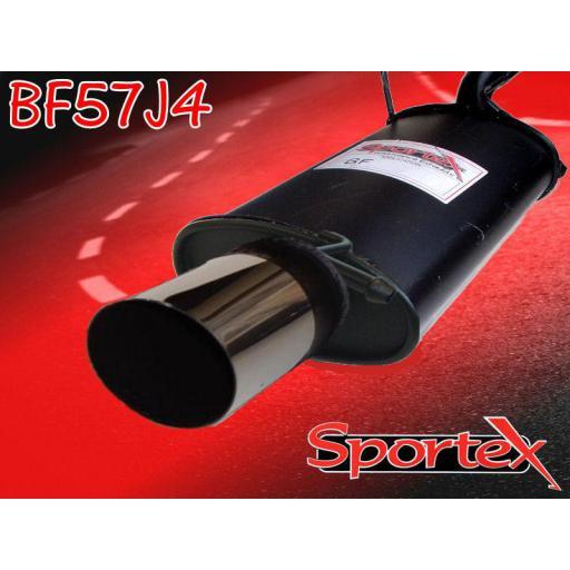 Sportex Ford Puma exhaust back box 1.7i 1997-2001 J4