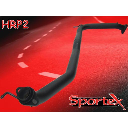 Sportex Honda Civic exhaust race tube Type R 2.0i 2006-2011