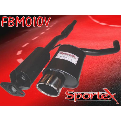 Sportex BMW Mini performance exhaust system 2001-2006 OV
