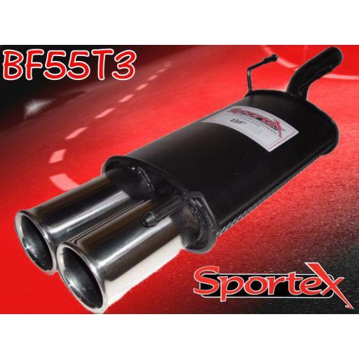 Sportex Ford Puma exhaust back box 1.4i 1998-2001 T3