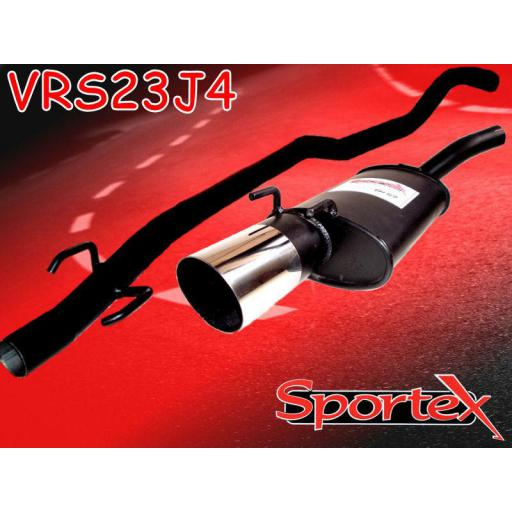 Sportex Vauxhall Corsa B performance exhaust system 1993-2000 J4