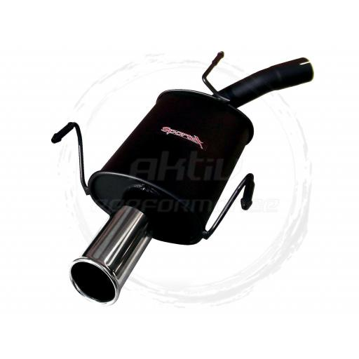 Sportex Vauxhall Corsa C performance exhaust back box 2000-2006 S3